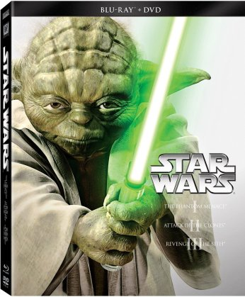 star wars prequels blu and dvd